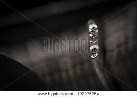 Paragrapy Symbol Of Typewriter