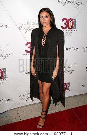LOS ANGELES - SEP 17:  Cassie Scerbo at the Padres Contra El Cancer's 15th Annual