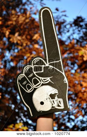 Autumn Foam Finger