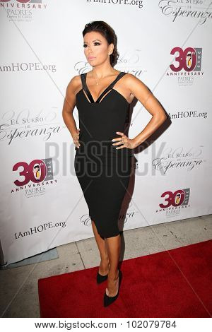 LOS ANGELES - SEP 17:  Eva Longoria at the Padres Contra El Cancer's 15th Annual