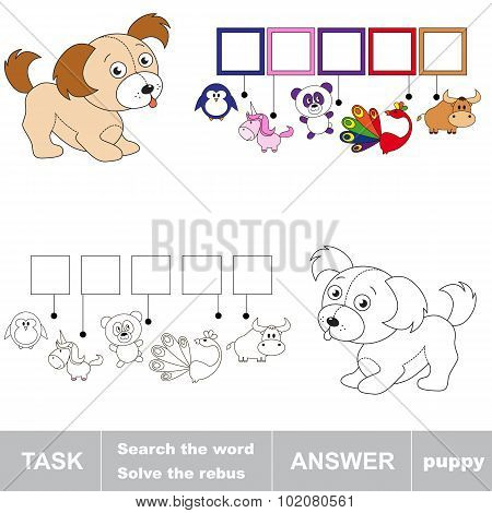 Search the word PUPPY.