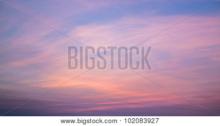 Colorful Pink Sky Background