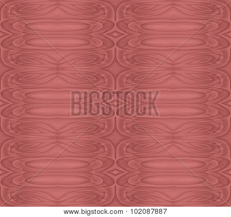 Seamless ellipses pattern red brown
