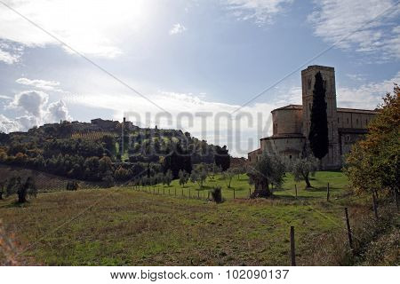 Church In Tuscany