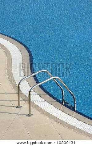 Bright Blue Swimming Pool