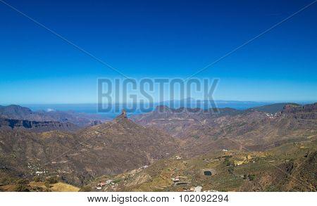 Gran Canaria, Caldera De Tejeda, Roque Bentayga