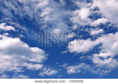 Blue Sky & Clouds
