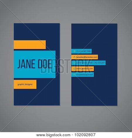 Designer Simplistic Business Card Template
