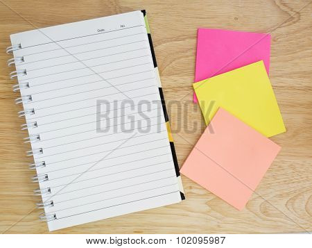 Notebook And Note Paper