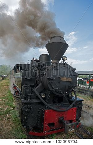 Wood-burning Locomotive