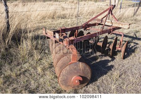 Farming Plow Equipment