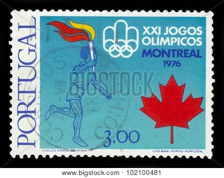 21Th Summer Olympics Games Montreal -1976