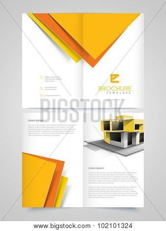 Creative Architectural professional Brochure, Template or Flyer design for your Business.