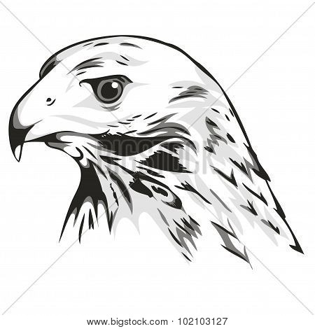logo depicting the head of an eagle