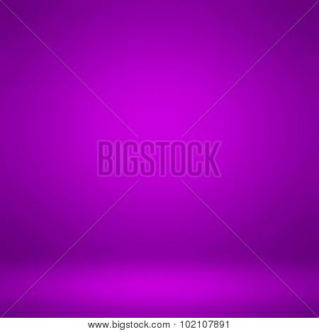 Abstract illustration background texture of dark and light clear lilac, mauve, lavender, violet, purple and indigo color gradient flat wall and floor in empty spacious room interior, seamless pattern