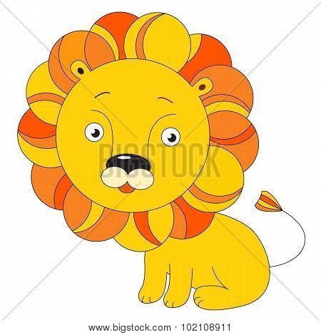 Toy lion.
