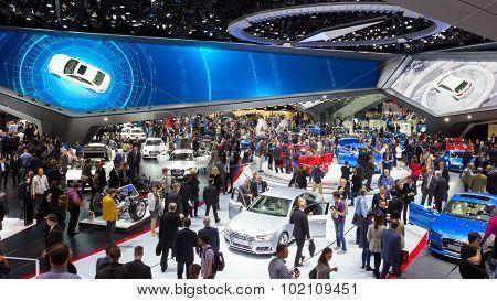 Audi Hall Iaa Motor Show