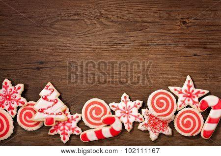 Christmas Cookies Border