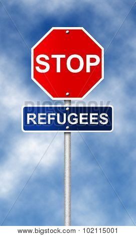 Stop. Refugees