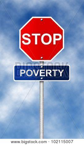 Stop. Poverty