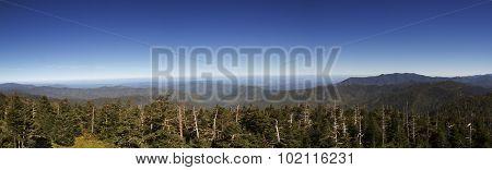 Panorama Smoky Mountains