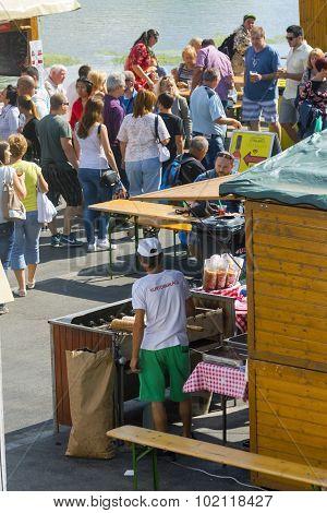Fish Soup Festival In Szeged