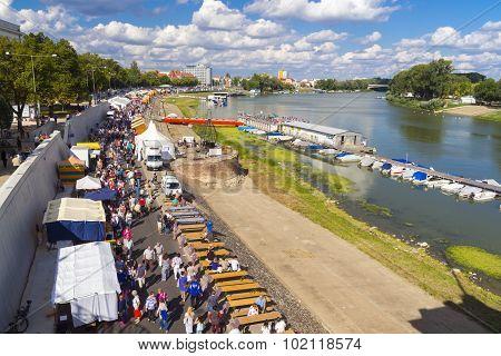 Crowd In Szeged