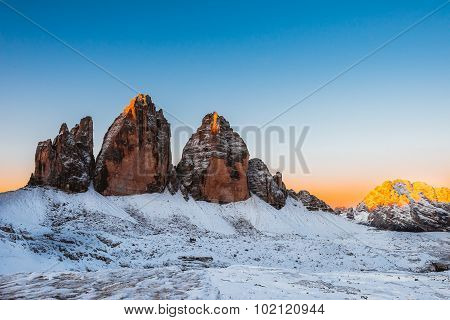 Drei Zinnen Lavaredo, Dolomites Alps