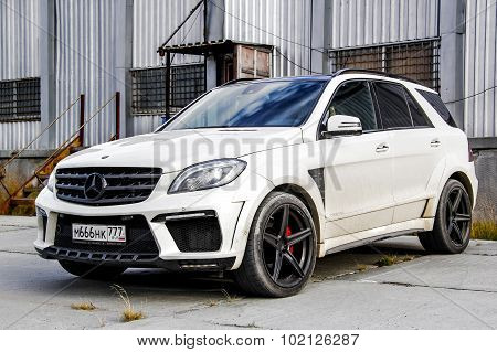 Mercedes-benz W166 Ml63 Amg