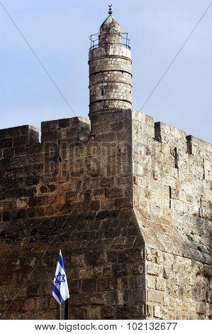 The Tower Of David In Jerusalem, Israel