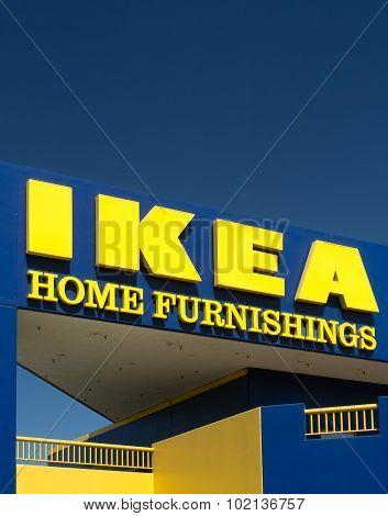 Ikea Store Exterior
