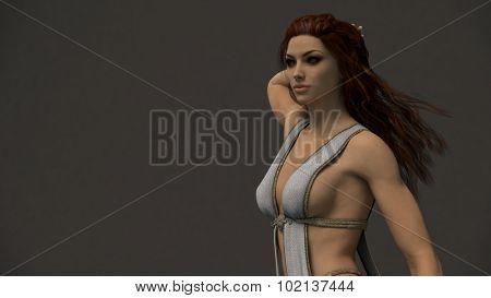 fantasy girl portrait