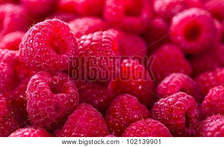 Raspberries Food Background