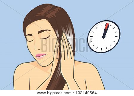 Hair treatment in 1-3 Minute with hair conditioner