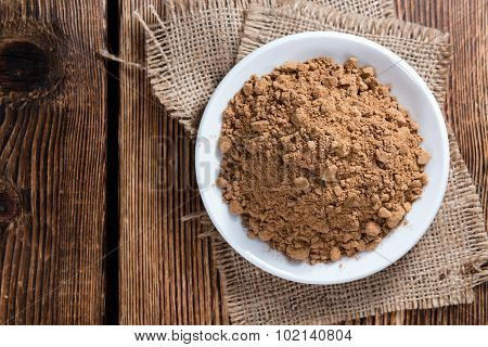 Portion Of Guarana Powder