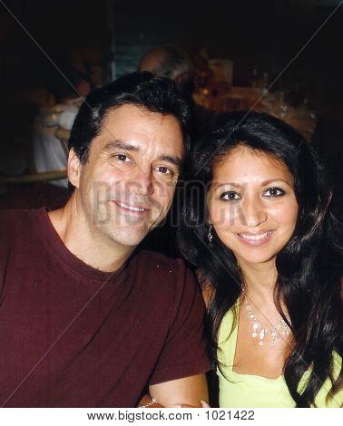 Good Looking Latin Couple