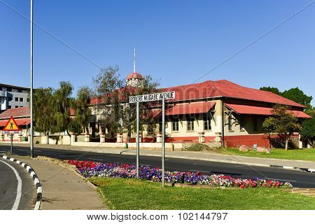 Robert Mugabe Avenue - Windhoek, Namibia