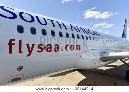 South African Airways Plane