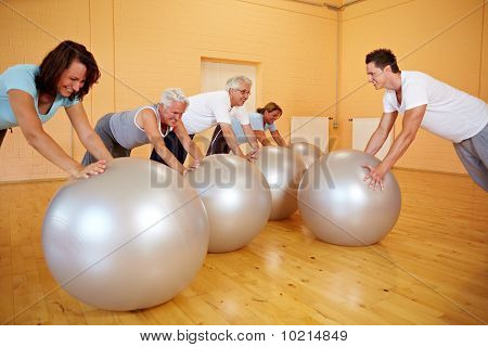 Pushups On Exercise Ball