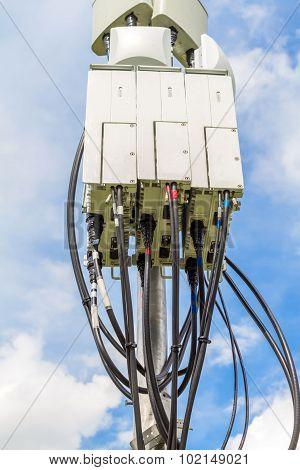 Close up of Cellular Remote Unit