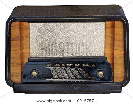 Wooden Tuner Radio