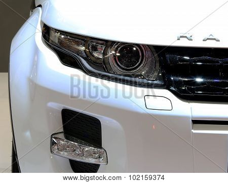 Headlight Of Range Rover Series Evoque