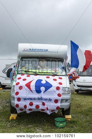 Decorated Caravan - Tour De France 2014