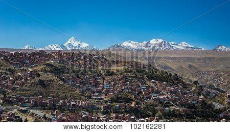 Cityscape Of El Alto, La Paz, Bolivia