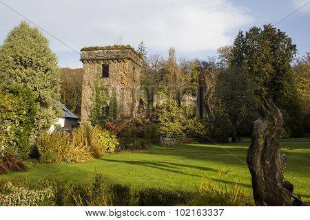 Ruin Of Colthurst Residence.