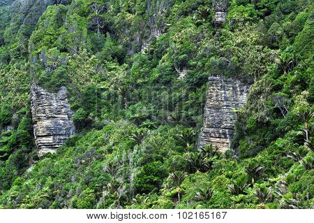 New Zealand South Island Pancake Rocks