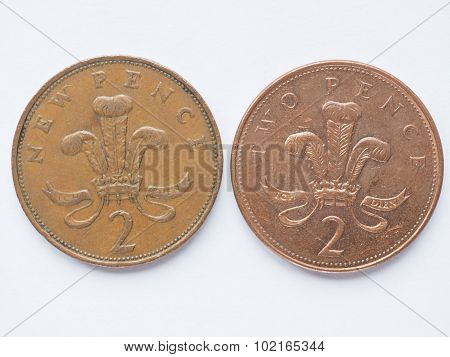 Uk 2 Pence Coin