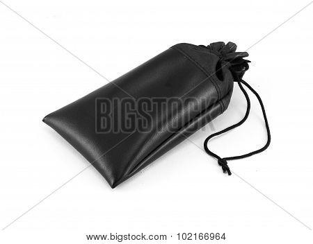 Black Bag Isolated On White Background