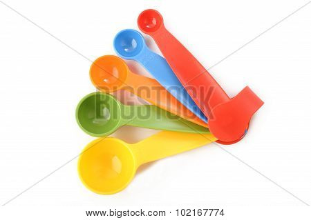Colorful Plastic Measuring Spoon
