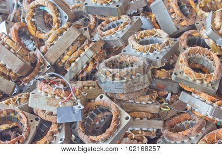 Motor Old Copper